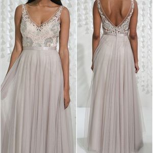 Waters - bridesmaid/prom gown